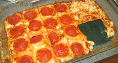 no carb pizza - really good! Best non-flour crust we've tried yet.