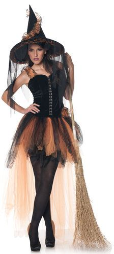 Hallows Eve Witch Costume  sc 1 st  Pinterest & FunWorld Womenu0027s Goth Maiden Witch Costume http://www.amazon.com ...