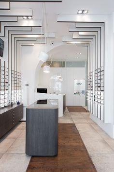 OTTICA ANNONI - Picture gallery #architecture #interiordesign #store
