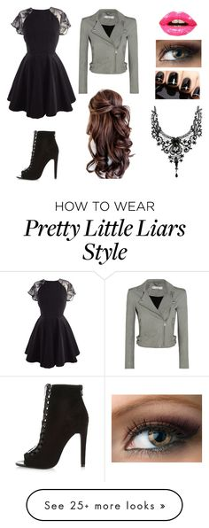 """Pretty little liar"" by anime909 on Polyvore featuring River Island, IRO and Christian Dior"