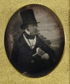 'Portrait of William Henry Fox Talbot, c.1844' Antoine Claudet's Adelaide Gallery was one of the earliest most successful daguerreotype studios in London in the 1840s and it was here that he made several portraits of Henry Talbot. Despite considering Talbot's calotype process an inferior vehicle for portraiture, the two photographers maintained a friendly relationship and in 1844 even entered into a short-lived partnership Photographer: Antoine François Jean Claudet (1797 - 1867)