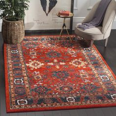 8' x 10',Traditional 7x9 - 10x14 Rugs: Use large area rugs to bring a new mood to an old room or to plan your decor around a rug you love. Free Shipping on orders over $45!
