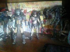 #Aliens #Predator #Alien_vs_Predator #Чужой_против_Хищника #Movie #Action #Fantasy #Figures #Фигурка #Neca