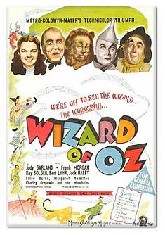 Judy Garland The Wizard of Oz Movie POSTER 27 X 40 In Deluxe Wood Frame A
