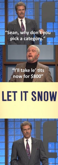 SNL 40 - Celebrity Jeopardy