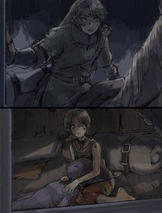 Ilya war schon immer ganz cute Und Link hatte vergebens versucht sie zu finden *_* #MavisChan