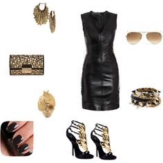 """Don't You Wanna Be A Bad GIrl?"" by karaallan on Polyvore"