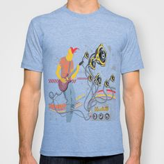 Bear&Waterfall T-shirt by nimorok Waterfall, Bear, Mens Tops, T Shirt, Stuff To Buy, Space, Medium, Fashion, Supreme T Shirt