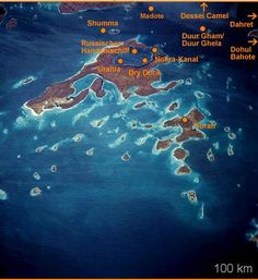 Some of the numerous interesting diving sites of the Dahlak Archipelago.