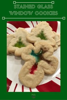 This fun Stained Glass Window Cookies Recipe is sure to become a family tradition. Kids and adults enjoy making these beautiful cookies with a candy center. Roll Out Sugar Cookies, Cut Out Cookies, Yummy Cookies, Family Christmas, Christmas And New Year, All Things Christmas, Christmas Kitchen, Christmas Ideas, Christmas Parties