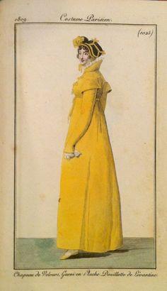La Châtelaine Chocolat: Le Modiste: Update on the Regency outerwear, 1809