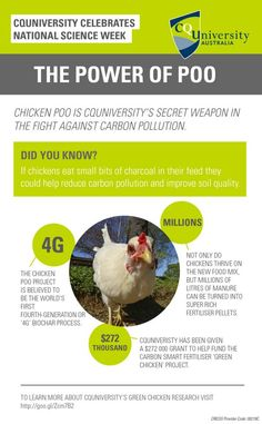 To learn more about CQ University's Green Chicken Research visit http://goo.gl/Zcm7B2