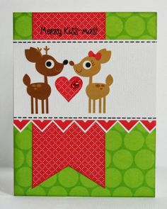 Snippets By Mendi: A Doodlebug North Pole Christmas Card.