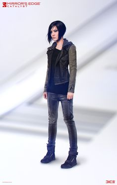 "ArtStation - ""Mirror's Edge: Catalyst"" - Faith Connors - Character Concept Art, Per Haagensen"