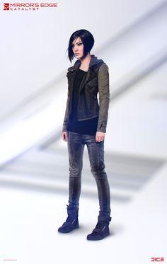 "ArtStation - ""Mirror's Edge: Catalyst"" - Faith Connors - Character Concept Art, Per Haagensen"