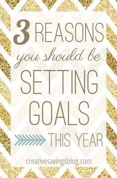 Resolutions might not work, but goals DO. This post gives 3 solid reasons why you should be setting goals right now,