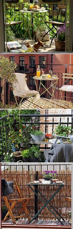 Lovely balconies!