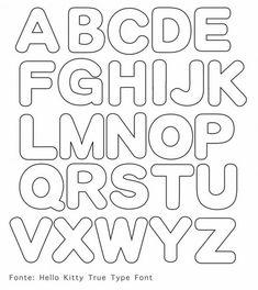 leuke sjabloon letters: