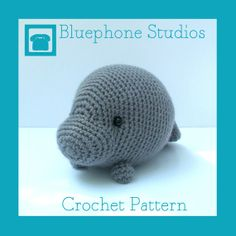 Amigurumi Manatee Pattern : Crochet Patterns To Buy on Pinterest Amigurumi, Crochet ...