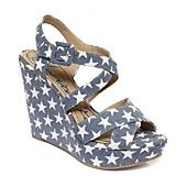 American Rag Shoes, Rachey Platform Wedge Sandals