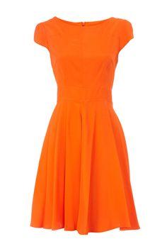 Dorothy Perkins Tangerine Circle Dress, $55, available at Dorothy Perkins.