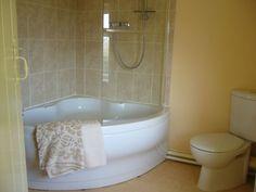 corner whirlpool tub shower combo. White Curved Bathroom Corner Tub With Shower Having Glass Door Using Cream  Ceramic Wall corner whirlpool tub with shower curtain Google Search