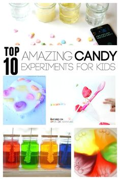Top Ten Amazing Candy Experiments