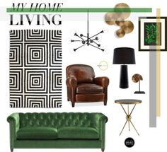 """My Home Living"" by jilljudd on Polyvore"