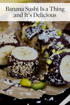 We are obsessed with banana sushi. Best thing is, you can make this treat at home.