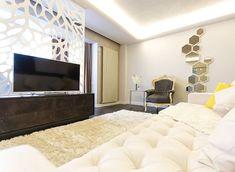 Design is creativity made visible. #dconcept #interior #interiordesign #designer #cozy #chesterfield #livingroom #divider #irsap dconcept.ro by d.concept