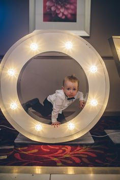 Cheeky Page boy LOVE letters Winter wedding