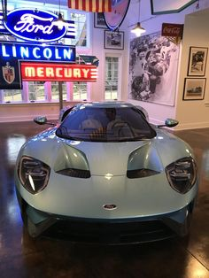 2018 Ford GT 1 of 1 Azzure Blue