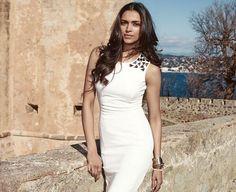 Deepika Padukone's Van Heusen Summer spring Collection 2014 photoshoot. #Style #Bollywood #Fashion #Beauty