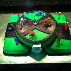 Ben 10 birthday cake