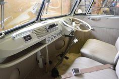 Split screen cab seats