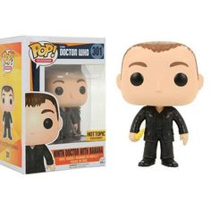 Funko Doctor Who Pop! Television Ninth Doctor With Banana Vinyl Figure Hot Topic Exclusive