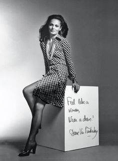 DVF- I love how Diane designs her iconic wrap dresses for the everyday woman. Most designers make clothes for a certain body type, but DVF designs for women of all shapes.