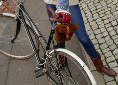 EWOK, first to market fur saddle bag