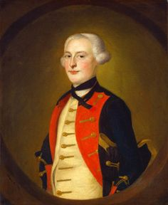Joseph Blackburn  A Military Officer, 1756  Andrew W. Mellon Collection  1947.17.25