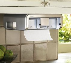 Touchless Paper Towel Dispenser – $92 ~ not a fan of paper towel use, but if you need them this is a way to go.