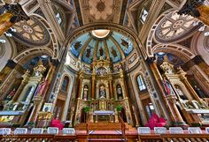 Shrine Of St. Joseph, St. Louis - hard to believe but this is completely made of wood AND was built before electricity. Pure beauty.