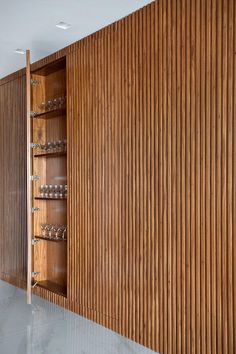 32 Stunning Wood Home Decoration Ideas that You Will Adore - The Trending House Wood Slat Wall, Interior Architecture, Interior Design, Küchen Design, Home Office Design, Interior Inspiration, Living Room Designs, New Homes, House