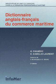 L'anglais est la langue du commerce maritime et de la documentation technique de bord (et langue de bord dans les navires français sous contrôle étranger). Ce dictionnaire des termes et abréviations, avec index, permet la traduction. Il couvre le droit maritime, l'assurance, l'affrètement, les transactions commerciales, les technologies.