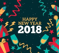 happy new year 2018 resolutions image