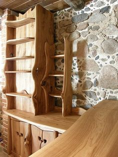Furniture for the home - Wood Shelves (2)
