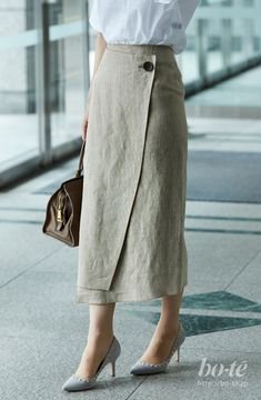 Hijab Fashion, Korean Fashion, Boho Fashion, Fashion Dresses, Fashion Design, Skirt Outfits, Casual Outfits, Informal Attire, Professional Outfits