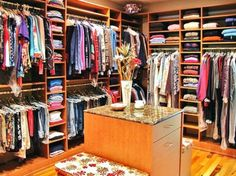 Planning on turning the utility room into a family closet...something like this...my sister has this and I love it.