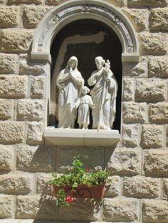St Joseph, Garden Sculpture, Statue, Outdoor Decor, Art, Saint Joseph, Art Background, Kunst, Performing Arts
