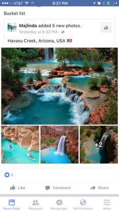 travel destinations pictures Havasu Creek, AZ - lets go! Vacation Places, Vacation Destinations, Dream Vacations, Vacation Spots, Oh The Places You'll Go, Cool Places To Visit, Beautiful Places To Travel, All Nature, To Infinity And Beyond