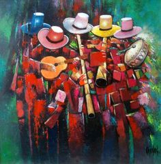 Presencia Andina en la Pintura Peruana